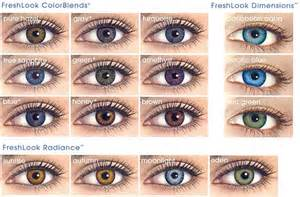 color contact brands color contacts