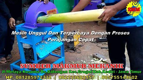 Mesin Perajang Batang Pisang mesin perajang gedebog pisang jumbo pencacah