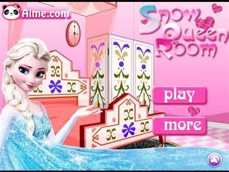 Frozen Elsa Games- Snow Queen Room- Fun Online Interior ... Kids Games For Girls Disney Free Online