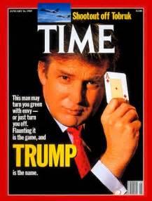 Donald trump 1960 time magazine cover donald trump jan 16 1989
