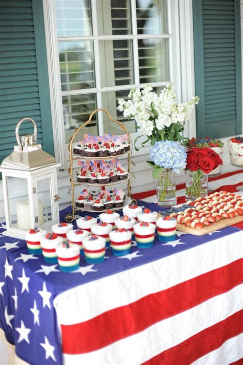 4th of july table 10 fourth of july decoration ideas tinyme blog
