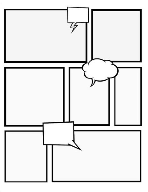 comic book layout template comic book template peerpex