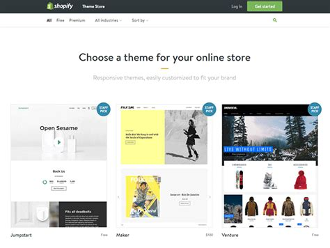 shopify themes 2016 shopify themes shopify experts review jump start your