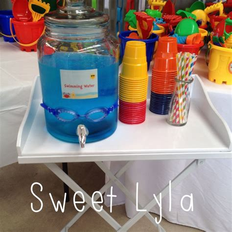 themed birthdays ideas first birthday beach party kids party space
