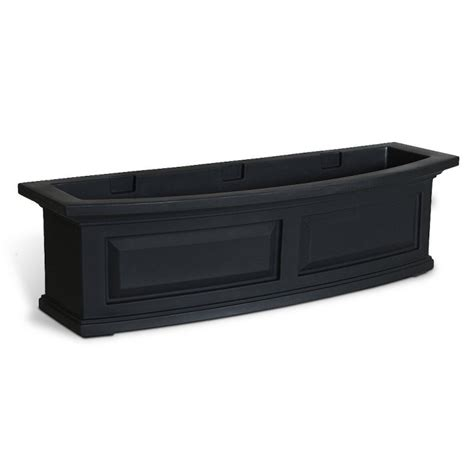 Balcony Planter Box 10 Easy Pieces Black Balcony Box Planters Gardenista