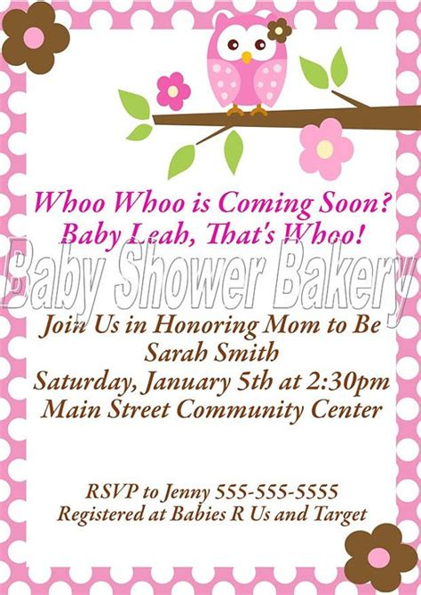 printable owl themed baby shower invitations 113 best images about valentina s babyshower on pinterest