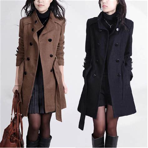 Winter Overcoat Jacket Zildano Mantel Musim Dingin Pria 2015 wanita baru parit mantel wol musim dingin ring ganda breasted mantel mantel musim