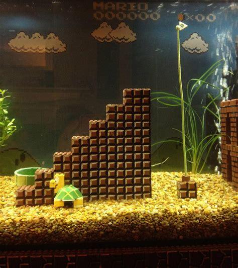 Mario Brothers Aquarium Decorations by Not Bad Lego Mario Level Aquarium Decorations