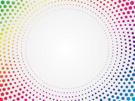 halftone pattern vector download rainbow halftone vector vector art graphics freevector com