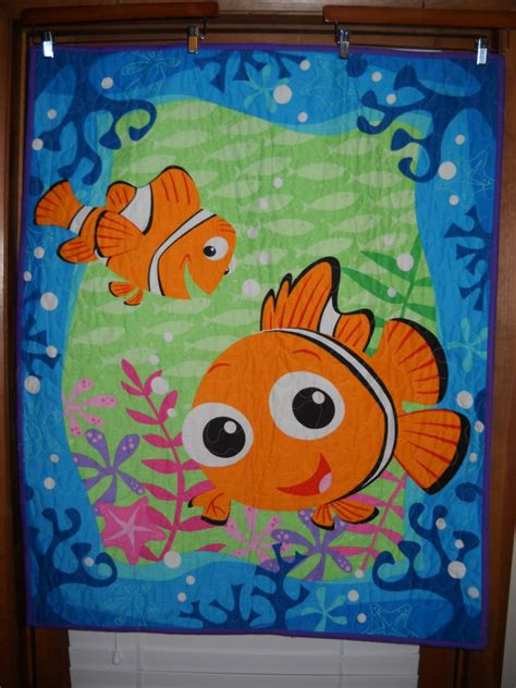 Nemo Quilt by Finding Nemo Home Made Quilt By Quiltsforu2 On Etsy