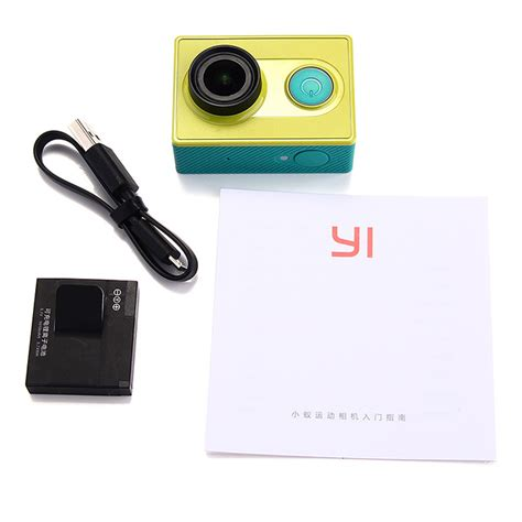 Xiaomi Yi Wifi 16mp 1080p 60 Fps 2 xiaomi yi wifi 16mp 1080p 60fps green