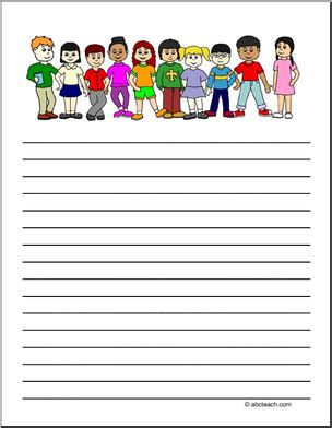 abcteach printable writing paper writing paper page 1 abcteach