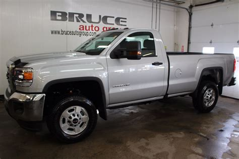 New 2017 GMC SIERRA 2500 HD 6.0L 8 CYL AUTOMATIC 4X4 REGULAR CAB in Middleton   G17173