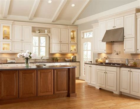 kitchen island different color than cabinets ideas for inspiration shenandoah cabinetry different