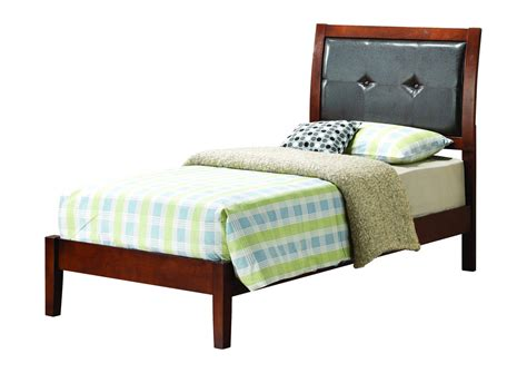 cherry twin bed furniture ville bronx ny cherry twin bed