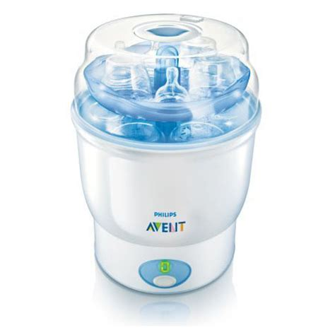 Iq Baby 6 Bottle Steam Sterilizier New philips avent iq 24 electronic steam sterilizer is a new parents modern baby toddler