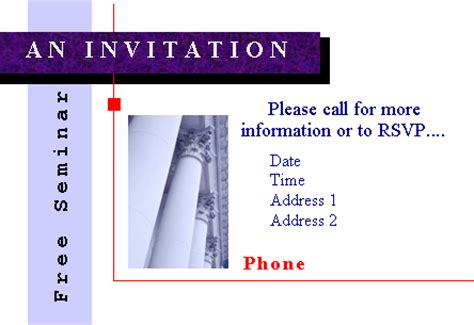 download free printable invitations of seminar invitation