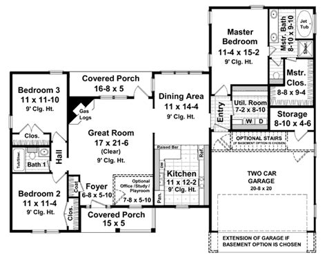 1600 square foot floor plans ranch style house plan 3 beds 2 baths 1600 sq ft plan