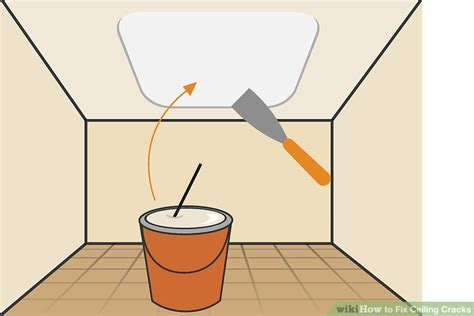 how to fix cracks in ceiling how to fix ceiling cracks 11 steps with pictures wikihow