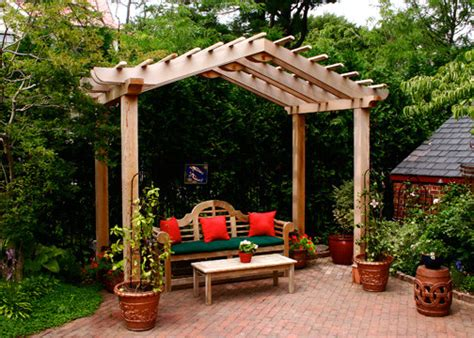 Oriental Trading Home Decor asian style pergolas traditional patio boston by