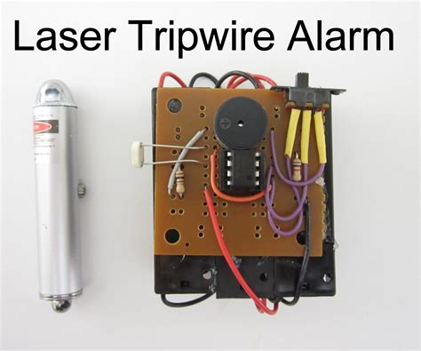 laser tripwire alarm security systems