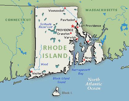 rhode island map free printable maps