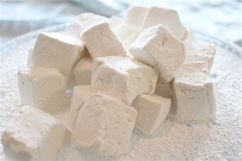 Handmade Marshmallows - marshmallow recipe dishmaps