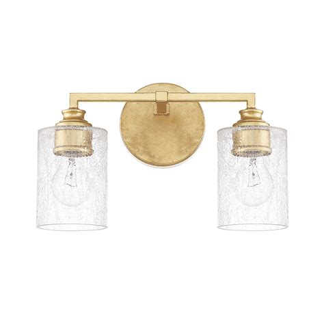 gold vanity light capital lighting fixture company milan capital gold two