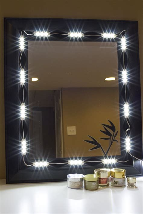 makeup mirror with bright light makeup mirror white led light package premium series led