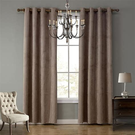 bedroom blackout window coverings ultra light suede fabric curtain good shading living room