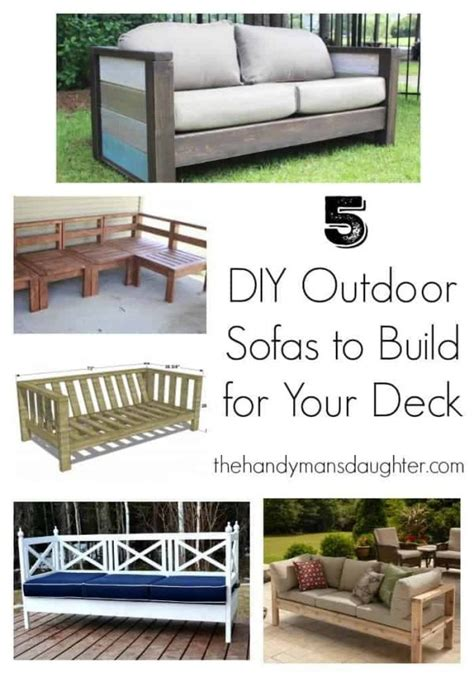 build your own outdoor sectional sofa build your own outdoor sofa and loveseat the handyman s