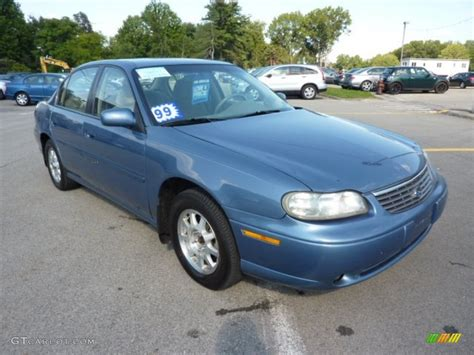 light blue chevy malibu 1999 medium opal blue metallic chevrolet malibu ls sedan
