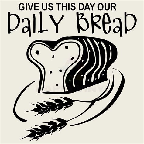 Family Wall Stickers Quotes give us this day our daily bread wall decal wall sticker