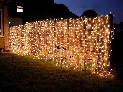 ideen gartenbeleuchtung marvelous fence lighting ideas that will make you say wow