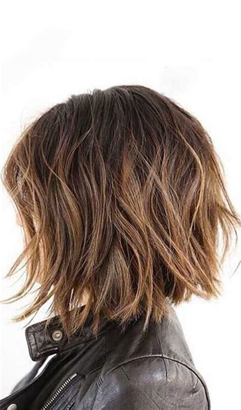 medium length hair coppy back short choppy hairstyles back views short hairstyle 2013