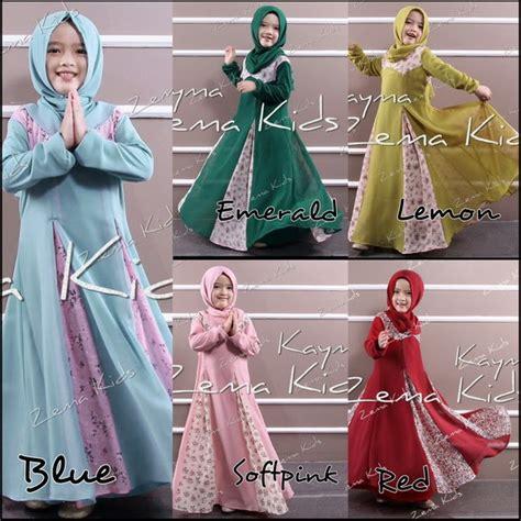Baju Muslim Anak Perempuan Untuk Lebaran model baju muslim anak perempuan terbaru untuk lebaran mendatang contoh baju muslimah terbaru