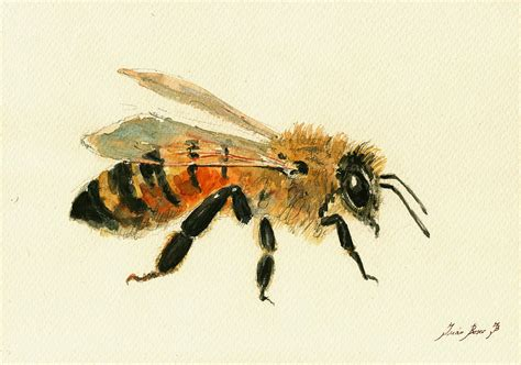 the bees times three how to paint a tile backsplash honey bee painting painting by juan bosco