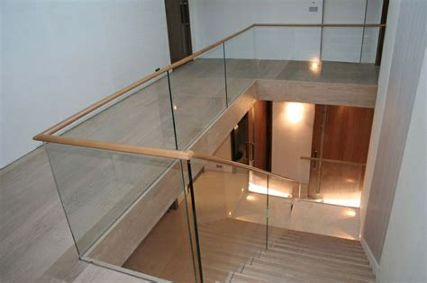 wood and glass banister 17 best images about stairs on pinterest canada wakefield and ash