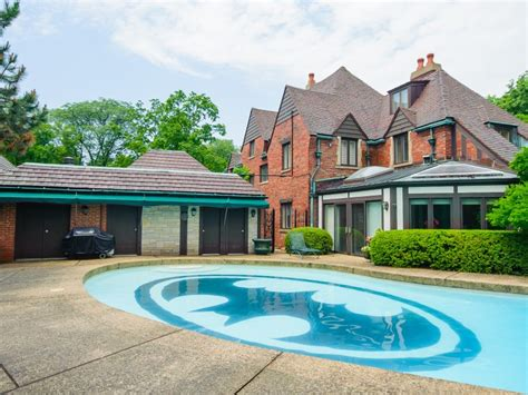 batman house hinsdale house with batman pool sells for 1 79 million darien il patch