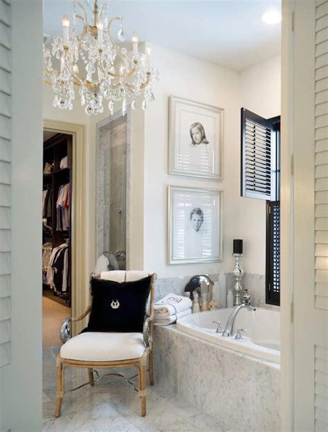 Chandelier In The Bathroom Bathroom Chandelier Design Ideas