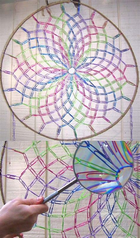 How To Make A Paper Dreamcatcher - 25 best ideas about paper diy on paper