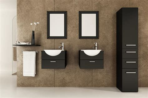 small vanity feat black bathroom vanities ideas