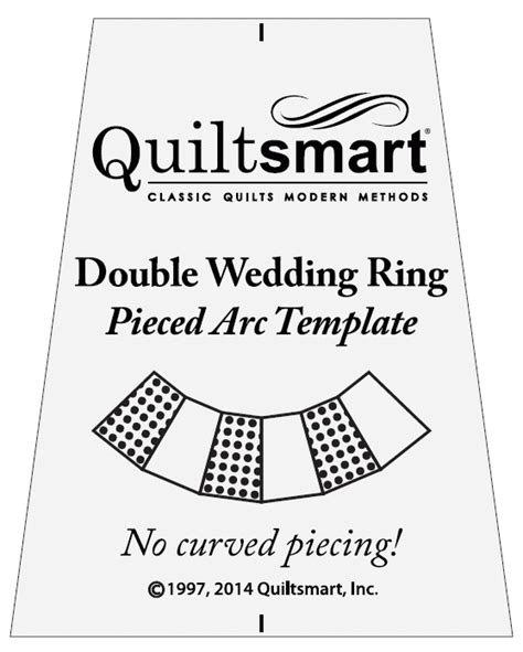 wedding ring quilt templates template for wedding ring pieced arcs quiltsmart