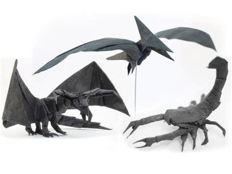 Origami Scorpion Tadashi Mori - tadashi mori s 森正 origami designs