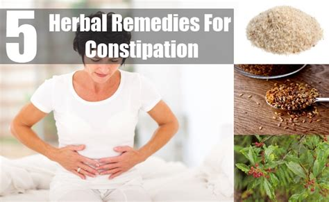 Impacted Stool Home Remedy by 5 Herbal Remedies For Constipation Treatments Cure For