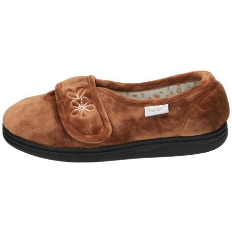 washable slippers dr keller velcro fastening machine washable