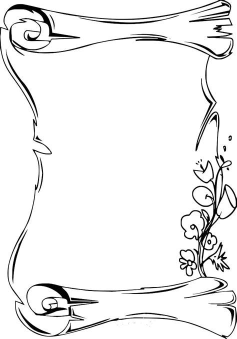 cornice da disegnare elegante collezione floreale con foglie e fiori disegno ad