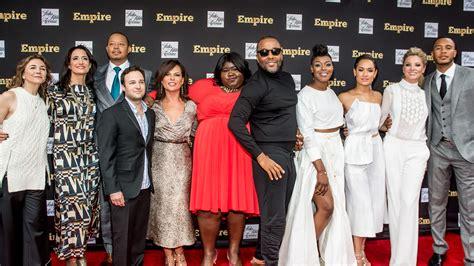 cat crew empire cast talk fashion at saks fifth avenue event