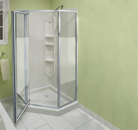 Maax Shower Doors Installation Neo Angle Shower Bathroom And Showers On