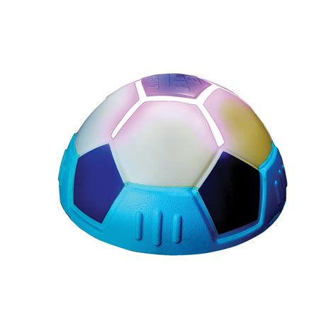lighted hover ball fun indoor gliding football toy with